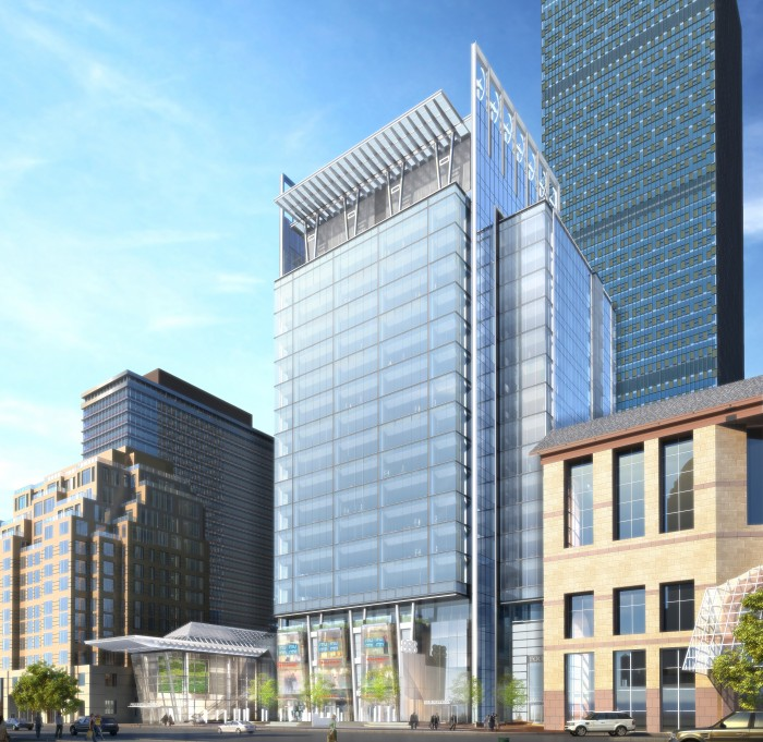 888 Boylston Street rendering - Architect FX Fowle